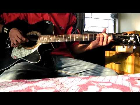 Pal Mein Hi (HD 720p) - Chance Pe Dance - Acoustic Guitar cover by
