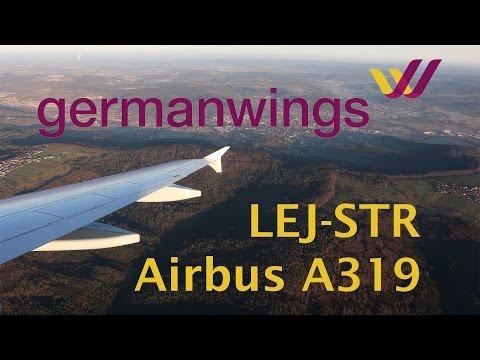Germanwings A319 flight report Leipzig - Stuttgart