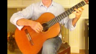 Exercise No. 127 in D major, Frederick Noad, Solo Guitar Playing Book 1