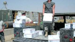 Operation SOS Packages Arrive in Iraq
