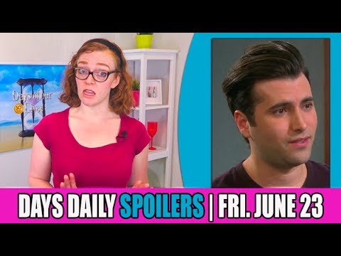 Days of Our Lives (DOOL) Daily Spoilers Update for Friday ...