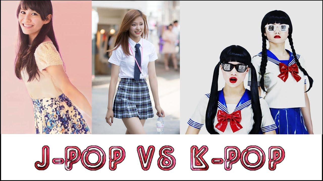 K-Pop vs. J-Pop Girls (2016 Edition) - YouTube