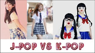 K-Pop vs. J-Pop Girls (2016 Edition)