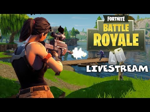 Hunting for Victory Royale - Fornite Battle Royale Gameplay - Xbox One X - Livestream