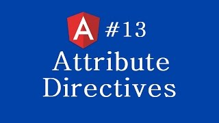 angular 2 tutorial 13 attribute directives