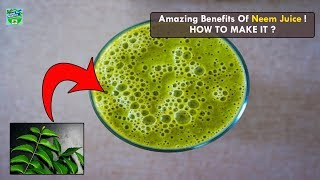 Amazing Health Benefits of Neem Juice and How to Make It | Home Remedies