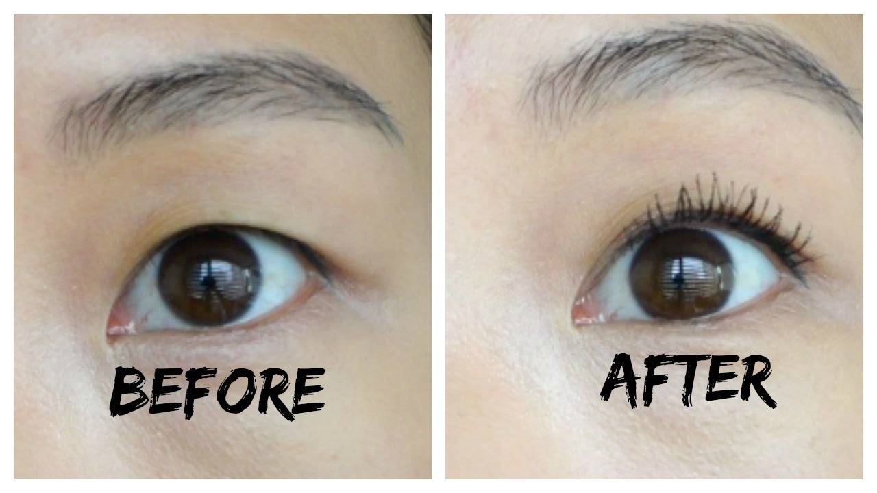 How To Get Curled Eyelashes Jenn Rogers Youtube