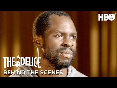 Meet Gbenga Akinnagbe aka Larry Brown | The Deuce | HBO