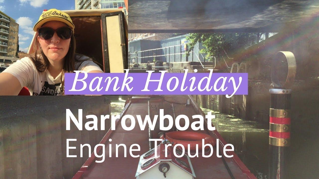 Narrowboat Journey - Limehouse Cut - Bank Holiday Weekend