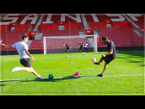 DEADLIEST FOOTBALL DODGEBALL!!!!!!!!! With Bertrand and Fonte!