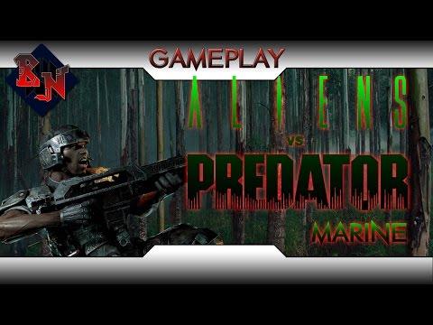 Universe Geeek :  Aliens vs Predator 3 Species Team Deathmatch Multiplayer Gameplay Marine