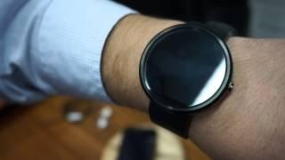 Moto 360: Conheça o novo smartwatch da Motorola