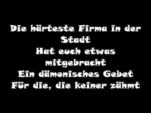 Böhse Onkelz-Die Firma [LYRICS]