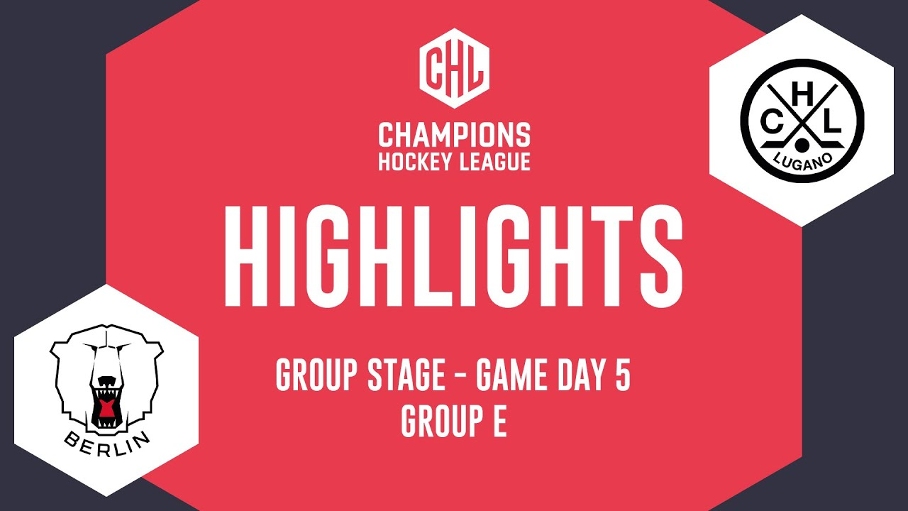 Highlights   Eisbären Berlin vs HC Lugano