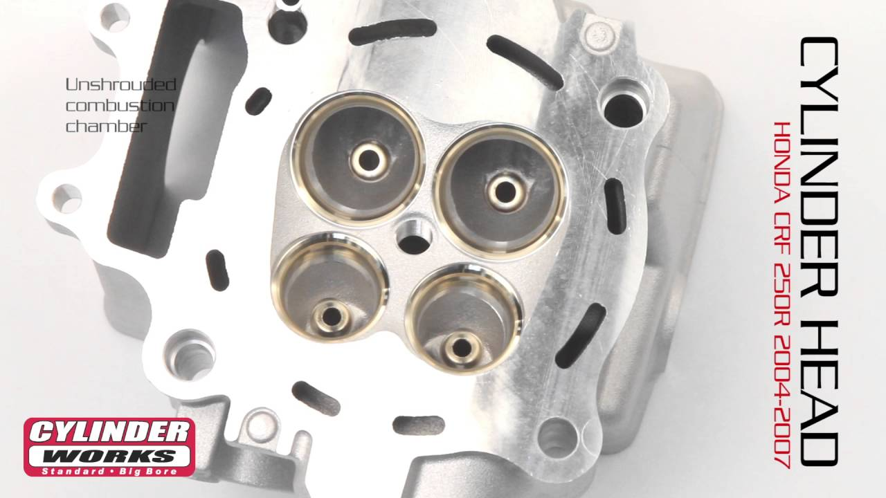 New Cylinder Head Kit For Honda CRF 250 R 2009