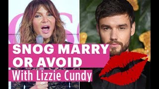 Lizzie Cundy Plays Celebrity Snog Marry Or Avoid | Liam Payne, Wes Nelson or Brian McFadden
