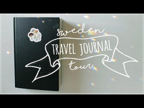 My Sweden Journal │ a flip through
