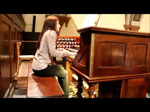 Daria Burlak, organ recital - Aosta Cathedral, Italy - Mozart, Liszt, Mendelssohn, Bach, Pierné