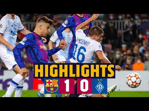 Barcelona Dinamo Kiev Goals And Highlights