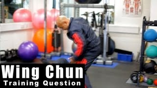 Wing Chun Training - wing chun how to deal with a fast jab. Q6