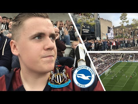 *JOKE* NEWCASTLE VS BRIGHTON VLOG! 0-1