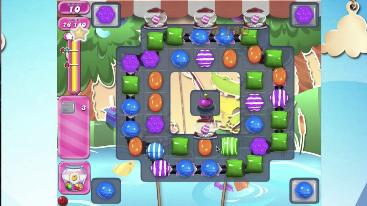 Candy crush saga level 2406 how fish bobber works no for Candy crush fish
