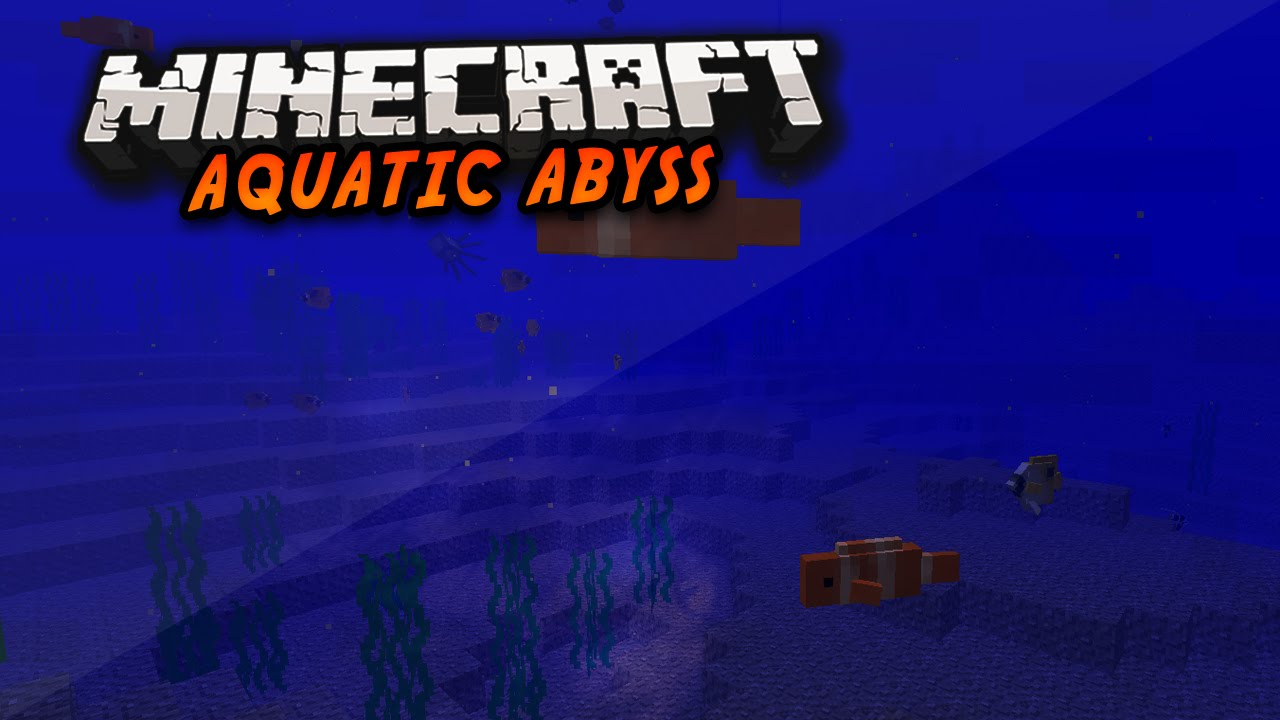 how to fish minecraft aquatic