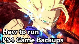 How to play PS4 Game backups: PS4HEN Guide