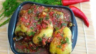 Закуска из перца болгарского  Вкуснотища к мяску