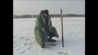 """Ловля Окуня на Мормышку по перволёдку. """"О Рыбалке Всерьез"""" видео 35.."""
