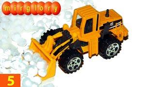Машинки мультфильм - Город машинок - 5 серия: Снегоуборочные машины, грейдер. Развивающие мультики(Представляем вам новый мультик про машинки