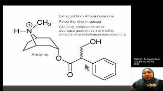 3. FAR141B | mACh antagonists | Atropine Structure