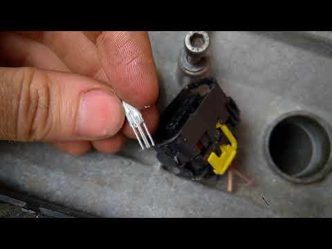 Как разобрать фишку разъема катушки зажигания