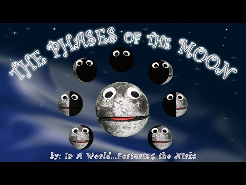 The Phases of the Moon - La Luna - The Moon Song - For Kids