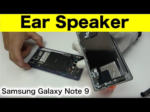 Samsung Galaxy Note 9 Earpiece Replacement