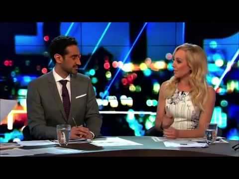 Carrie Bickmore's embarrassing 'beaver' slip up on The Project