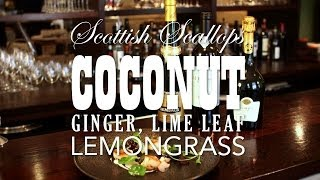 How To Make Scottish Scallops With Coconut, Ginger, Lime Leaf And Lemongrass