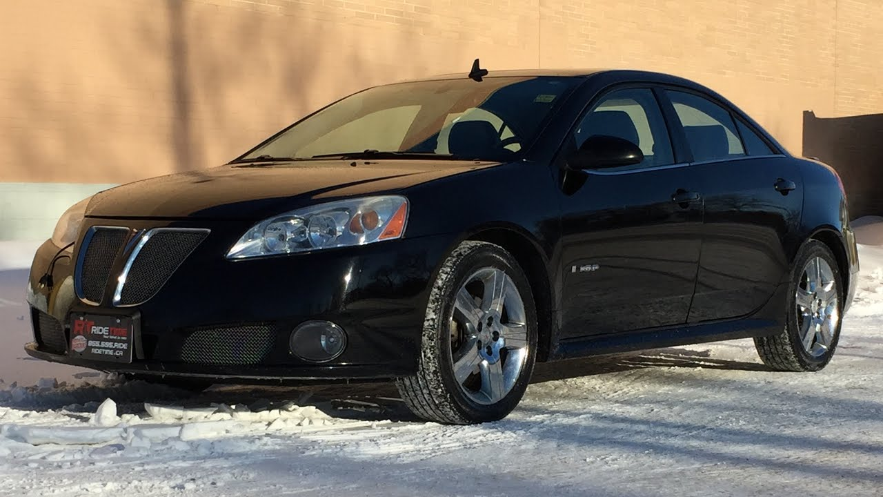 2008 pontiac g6 gxp sedan leather sunroof alloy wheels automatic huge value youtube [ 1280 x 720 Pixel ]