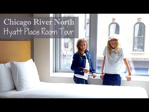 Chicago River North Hyatt Place Room Tour l Family Travel