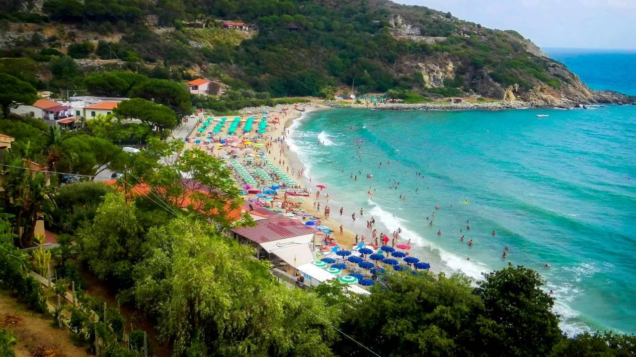 Cavoli Beach Elba Island YouTube
