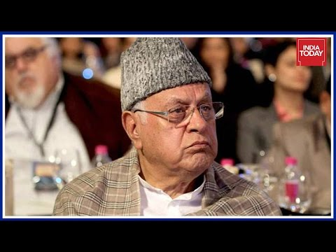 Farooq Abdullah Backs Stone Pelters In Kashmir ; Calls Them 'Nationalists'