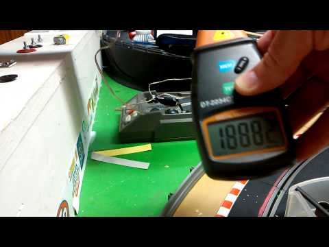 RPM slot car motor test guide