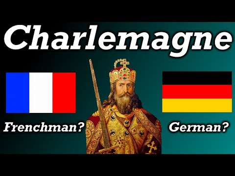Was Charlemagne French Or German?