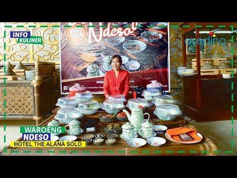 Ngintip Waroeng Ndeso Hotel The Alana Solo -  Info Kuliner Solo
