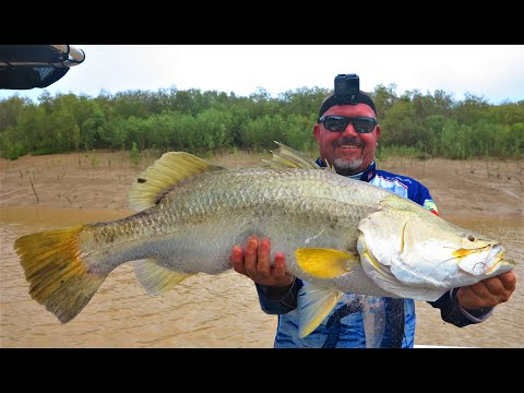 BARRAMUNDI  COMPETITION;  Live Bait V's Frozen & Our New BRAG MATS!