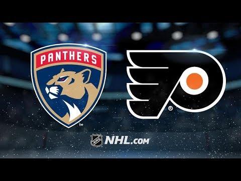 Florida Panthers Vs. Philadelphia Flyers | NHL Game Recap | October 17, 2017 | HD