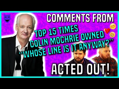 """Top 15 Times Colin Mochrie Owned """"Whose Line Is It Anyway?"""" 