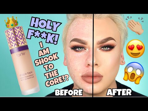 *NEW* TARTE SHAPE TAPE MATTE FOUNDATION REVIEW | Holy Sh*t!