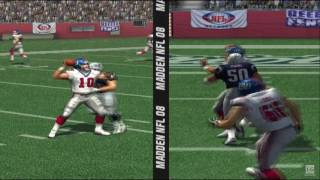 Madden NFL 08 PS2 Gameplay HD