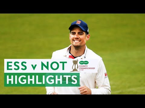Broad and Cook Face-Off As Essex Thrash Notts | Ess v Notts Specsavers County Championship